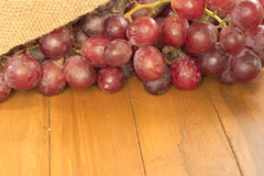 Bunch of red grape Stock Image
