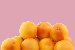 Bunch of red grapefruits Royalty Free Stock Photos