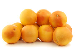 Bunch of red grapefruits Royalty Free Stock Photo