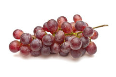 Bunch of red grapes Royalty Free Stock Photo