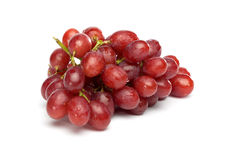 Red Grapes with little Waterdrops Stock Photography