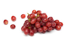 Red Grapes with little Waterdrops Royalty Free Stock Photography