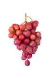 Bunch of red grapes Royalty Free Stock Image