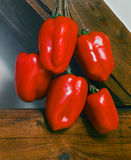 Bunch of red pepper Royalty Free Stock Photo