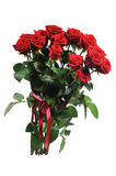 Bunch of red roses Stock Photography