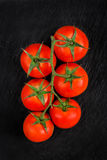 Bunch of red tomatoe Royalty Free Stock Photo