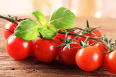 Bunch of red tomatoes Royalty Free Stock Photography