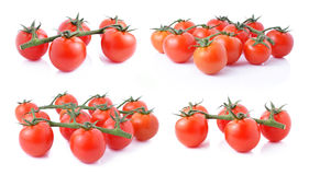 Bunch of red tomatoes Royalty Free Stock Photo