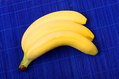 Bunch of ripe banana. Royalty Free Stock Images