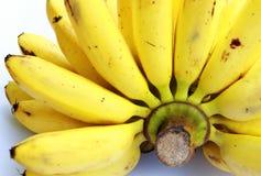 Bunch of ripe banana. Banana diet to stay healthy Stock Photos