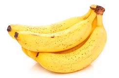 Bunch of Ripe Banana Isolated Royalty Free Stock Photo