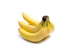 Bunch of ripe bananas Stock Images
