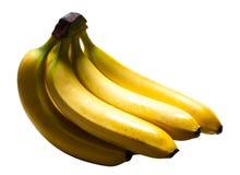Bunch of ripe bananas closeup Royalty Free Stock Photos