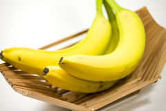 Bunch of ripe bananas Stock Photos
