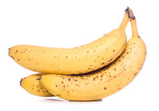 Bunch of ripe bananas cut out Stock Photos