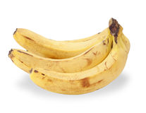 Bunch of ripe bananas isolated Royalty Free Stock Image