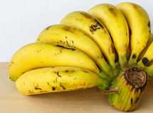 Bunch Ripe bananas Stock Photos