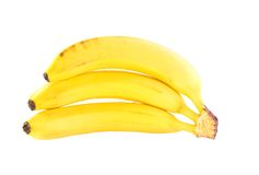 Bunch of ripe bananas Royalty Free Stock Photos