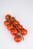 Bunch of ripe cherry tomatoes Stock Photos