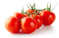 Bunch of ripe red tomatoes Stock Images