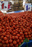 Bunch of ripe red tomatoes on the Stock Images