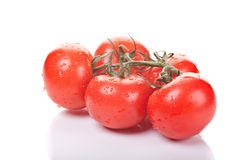 Bunch of ripe tomatoes Royalty Free Stock Photography