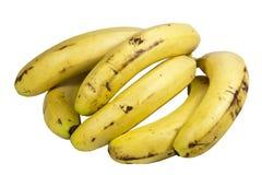 Bunch of Ripe Yellow Bananas as a Healthy Snack Stock Photos