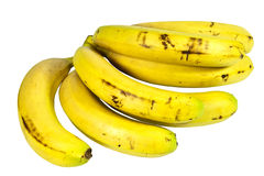 Bunch of Ripe Yellow Bananas Ready for Eating Royalty Free Stock Image