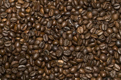 Bunch of roasted coffee texture Stock Images