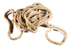Bunch of ropes Royalty Free Stock Photo