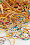 A bunch of Rubber bands Royalty Free Stock Image