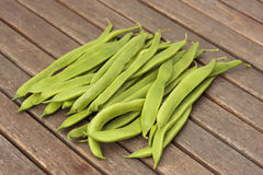 Bunch of runner beans Royalty Free Stock Images