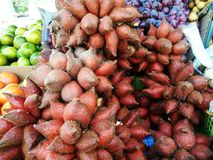 Bunch of sala fruits Royalty Free Stock Photo