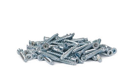 Bunch of screws Stock Images