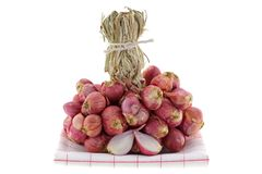 A bunch of Shallot bulbs Royalty Free Stock Images