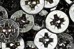 A bunch of sheet rock screws Stock Image