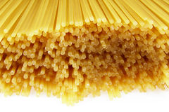 Bunch of spaghetti Stock Photo