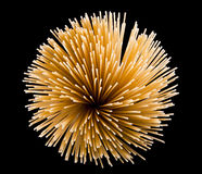 Bunch of spaghetti Stock Image