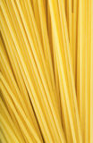 Bunch of spaghetti. Closeup view of a bunch of spaghetti Royalty Free Stock Image