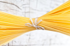 Bunch of spaghetti Stock Image
