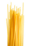 Bunch of spaghetti isolated on white. Stock Photos