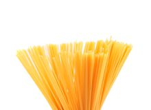 Bunch of spaghetti third number Royalty Free Stock Photo