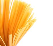 Bunch of spaghetti third number Royalty Free Stock Image