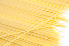 bunch of spaghetti  Stock Images