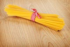 Bunch of spaghetti Stock Photo