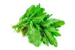 Bunch of spinach isolated on white background Royalty Free Stock Photography