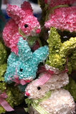 A bunch of spring bunnies Stock Photo