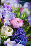 Bunch of spring flowers Stock Photo