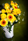 Bunch of spring flowers Stock Image