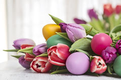 Bunch of spring flowers Stock Photography